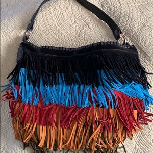 Patricia Nash Artisan Suede Collection Purse +Mini